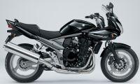 Suzuki Bandit 1250S 2007 - Schwarze Version - Dekorset