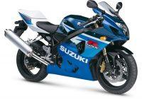 Suzuki GSX-R 600 2005 - Blau/Weiße Version - Dekorset