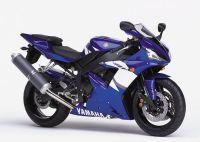 Yamaha YZF-R1 RN09 2002 - Blaue Version - Dekorset