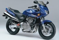 Honda Hornet CB 600S 2002 - Blaue Version - Dekorset
