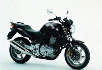Honda CBF 500 2005 - Schwarze Version - Dekorset