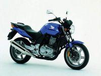 Honda CBF 500 2004 - Blaue Version - Dekorset