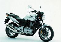 Honda CBF 500 2004 - Silbere Version - Dekorset