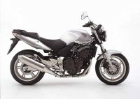 Honda CBF 600N 2004 - Silver Version - Decalset