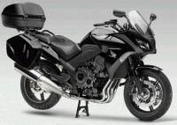 Honda CBF 1000 2010 - Schwarze Version - Dekorset
