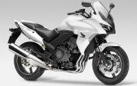 Honda CBF 1000 2010 - Weiße Version - Dekorset