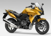Honda CBF 1000 2011 - Gold Version - Dekorset