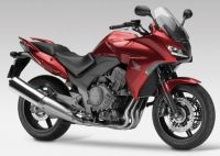Honda CBF 1000 2012 - Weinrote Version - Dekorset