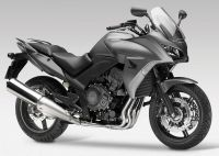 Honda CBF 1000 2013 - Graue Version - Dekorset