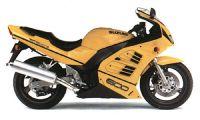 Suzuki RF 600R 1995 - Gelbe Version - Dekorset