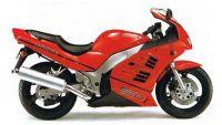 Suzuki RF 600R 1997 - Rote Version - Dekorset