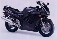 Suzuki RF 900R 1994 - Schwarze Version - Dekorset