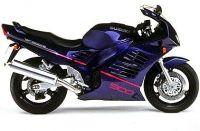 Suzuki RF 900R 1996 - Lila Version - Dekorset