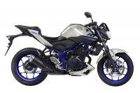 Yamaha MT-03 2016 - Weiß/Blaue Version - Dekorset