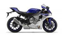 Yamaha YZF-R1 RN22 2015 - Blau/Silber Version - Dekorset