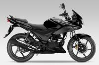 Honda CBF 125 2012 - Schwarze Version - Dekorset