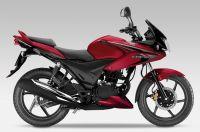 Honda CBF 125 2013 - Burgunder Version - Dekorset