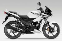 Honda CBF 125 2013 - Weiße Version - Dekorset