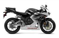 Honda CBR 600RR 2016 - Weiß/Schwarze Version - Dekorset