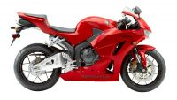 Honda CBR 600RR 2015 - Rote Version - Dekorset