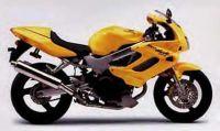 Honda VTR 1000F Superhawk 2000 - Gelbe Version - Dekorset