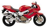 Honda VTR 1000F Superhawk 2001 - Rote Version - Dekorset