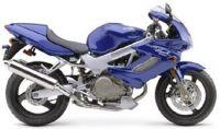 Honda VTR 1000F Superhawk 2003 - Blaue Version - Dekorset