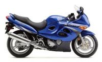 Suzuki GSX-F 600 Katana 2000 - Blaue US Version - Dekorset
