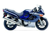 Suzuki GSX-F 750 Katana 2005 - Blaue US Version - Dekorset