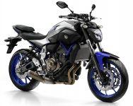 Yamaha MT-07 2016 - Silber/Blaue Version - Dekorset