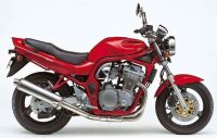 Suzuki Bandit 600N 1995 - Rote Version - Dekorset