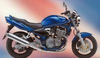 Suzuki Bandit 600N 1996 - Blaue Version - Dekorset