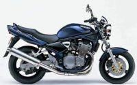 Suzuki Bandit 600N 1997 - Dunkelblaue Version - Dekorset