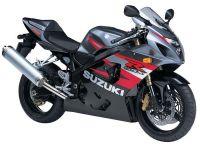 Suzuki GSX-R 750 2004 - Schwarz/Rote Version - Dekorset