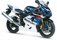Suzuki GSX-R 750 2004 - Weiß/Blaue Version - Dekorset