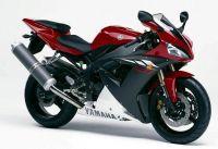 Yamaha YZF-R1 RN09 2003 - Rote Version - Dekorset