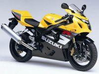 Suzuki GSX-R 750 2004 - Gelb/Schwarze Version - Dekorset