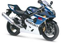 Suzuki GSX-R 750 2005 - Blau/Weiße Version - Dekorset