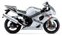 Suzuki GSX-R 1000 2003 - Silber Version - Dekorset