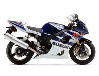 Suzuki GSX-R 1000 2004 - Weiß/Blaue Version - Dekorset