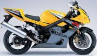 Suzuki GSX-R 1000 2004 - Gelb/Graue Version - Dekorset