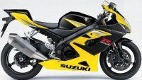 Suzuki GSX-R 1000 2005 - Gelb/Schwarze Version - Dekorset