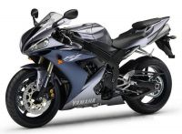 Yamaha YZF-R1 RN12 2004 - Graue Version - Dekorset
