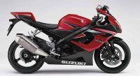 Suzuki GSX-R 1000 2006 - Rot/Schwarze Version - Dekorset