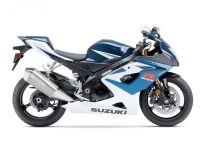 Suzuki GSX-R 1000 2006 - Weiß/Blaue Version - Dekorset