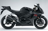 Suzuki GSX-R 1000 2008 - Black Version - Decalset