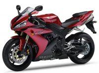 Yamaha YZF-R1 RN12 2004 - Rote Version - Dekorset