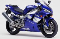 Yamaha YZF-R1 RN04 2000 - Blue Version - Decalset