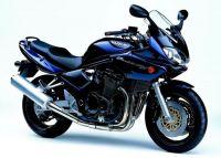 Suzuki Bandit 1200S 2002 - Dunkelblaue Version - Dekorset