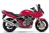 Suzuki Bandit 600S 2001 - Rote Version - Dekorset